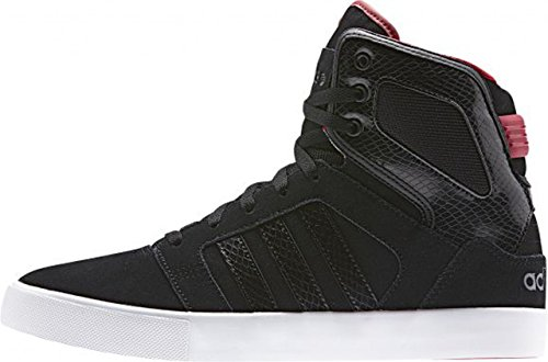 adidas Shoes Men Hitop Mid Core Black/Power Red Size 46