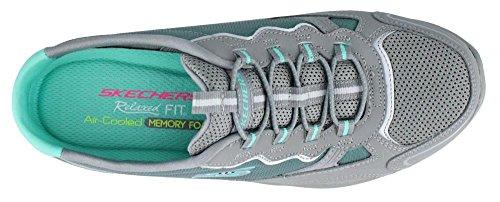 Women's green Grey Skechers The Empire Clogs Sneaker Lowdown OxURx8