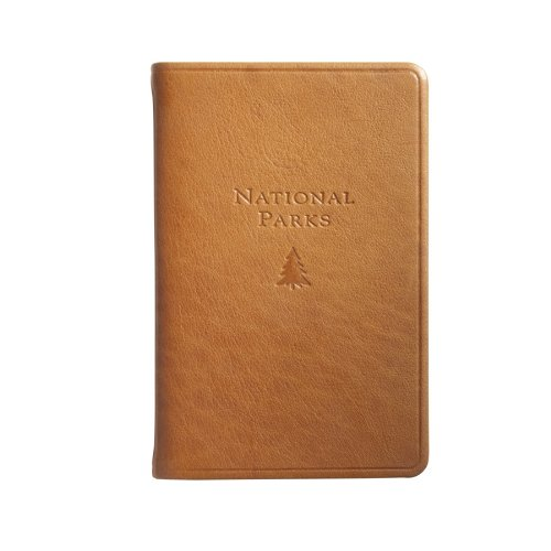 U.S. National Parks Guide & Journal, Genuine Leather, 5