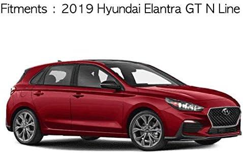 SAFE Window Visors Rain Guards 4pcs for 2019 Hyundai Elantra GT N Line
