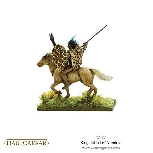 King Juba I of Numidia Hail Caesar Wargaming Miniatures Warlord Games
