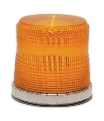 Star Quad Flash Magnet Mount Strobe Beacon - Amber