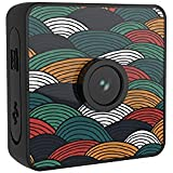 Andoer 1080P HD Water-resistant Action Camera Stickable Polychrome Stickers Wearable Multiple Skin Magnetic with App Live Video Portable Sport DV