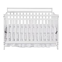 Dream On Me, Liberty, 5 in 1 Convertible Crib 618, is a lifetime crib that gracefully matures alongside of your child from infancy, through childhood to adulthood. As a crib, it features a stationary rail design which provides the utmost in p...