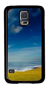 Beautiful Summer Day PC Case Cover for Samsung S5 and Samsung Galaxy S5 Black