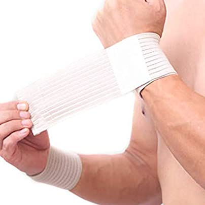 Shjiegan Nylon Bandage Hand Sport Wristband Gym Support Wrist Brace Estimated Price £1.94 -