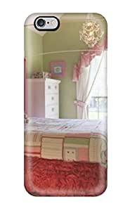Iphone 6 Plus Case Slim [ultra Fit] Lime Green And Pink Shabby Chic Bedroom Protective Case Cover