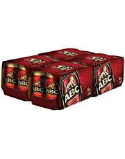 ABC Extra Stout Can, 323ml (Pack of 24)