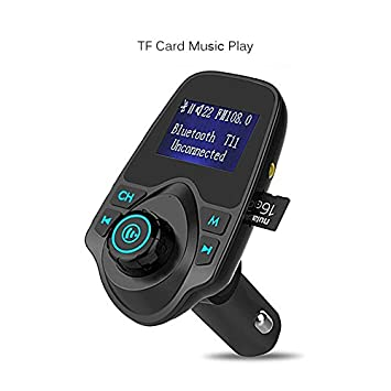 TOOGOO Nuevo Transmisor FM MP3 Kit coche Bluetooth LCD ...