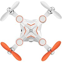 Owill M1 Mini Foldable 0.3M HD FPV 3MP 2.4G 4CH 6Axis RC 3D Roll A Key Return Quadcopter (Orange)