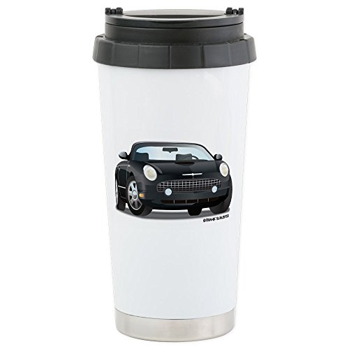 - CafePress - 2002 05 Ford Thunderbird Blk Stainless Steel Trave - Stainless Steel Travel Mug, Insulated 16 oz. Coffee Tumbler