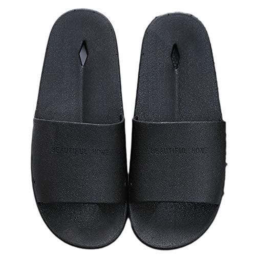des Maison Pantoufles AMINSHAP Couleur Chaussons à antidérapantes Bleu la Noir Taille Maison à 44EU la Pantoufles 43 zdWpdU