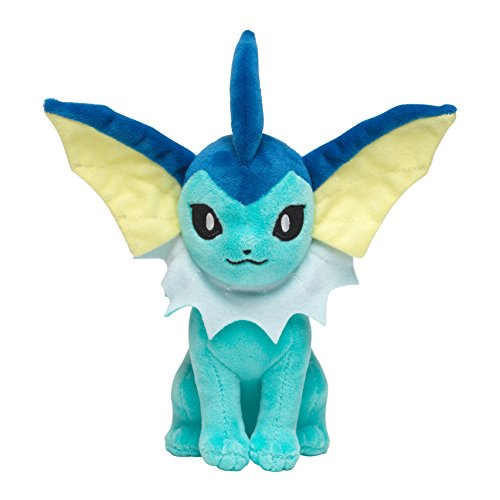 - Pokemon Sitting Vaporeon Exclusive 7.75-Inch Plush [Standard Size]