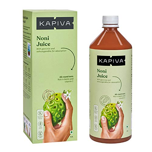 Kapiva Noni Juice (1L) – Rich in Antioxidants, Boosts Energy, Builds Immunity, Natural Detoxifier
