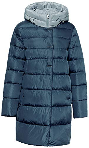 ICEbear Women's Thickened Casual Down Jacket Lightweight Hooded Mid-Length Puffer Coats Parkas Outwear Plus ()