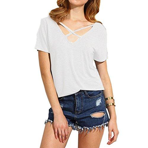 Women T-Shirts, Realdo Short Sleeve Casual Blouse T Shirt