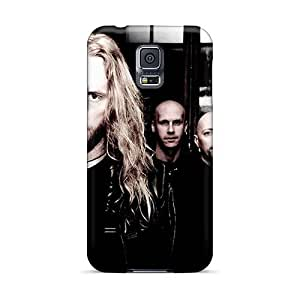 Shockproof Cell-phone Hard Covers For Samsung Galaxy S5 With Allow Personal Design Realistic Battlelore Band Pictures SherriFakhry