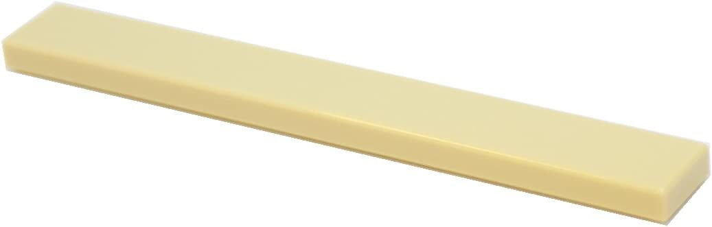 LEGO Parts and Pieces: Tan (Brick Yellow) 1x8 Tile x100