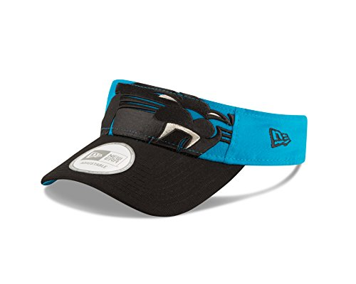 NFL Carolina Panthers Mascot Surge Visor, One Size, Blue