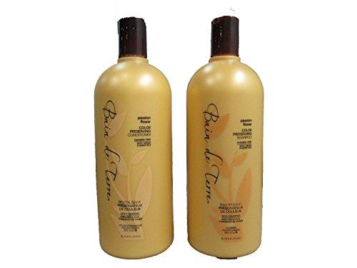 Bain De Terre Passion Flower Color Shampoo, Cond 33.8 Ounce
