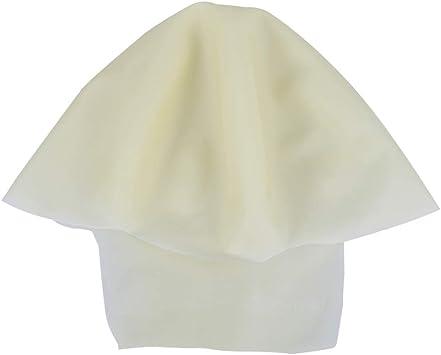 Amosfun disfraz de gorra calva látex sombrero calvo cabeza falsa ...