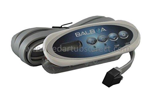 Balboa Water Group Topside, Duplex Mini Oval, P1, Bl, Lt, LCD #52144
