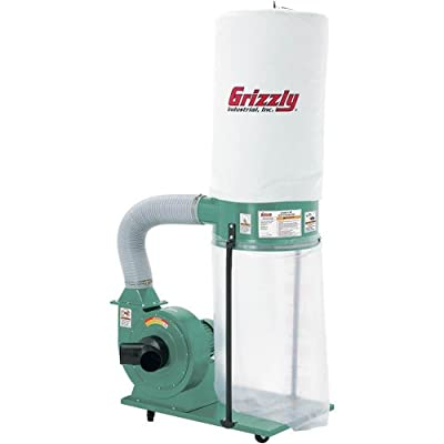 Grizzly G1028Z2 1-1/2 HP Dust Collector - Vacuum And Dust Collector Accessories -