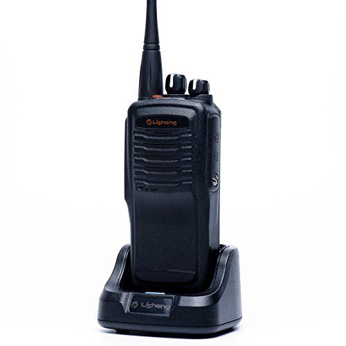 LISHENG LS-A8 High Power 8W Portable FM Two Way Radio (Black, Set of 1)