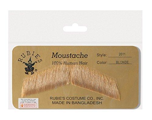 Rubie's Costume Co Gentleman's Blonde Mustache