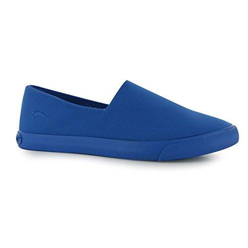 Rocket Dog Corby Chaussures à enfiler décontracté pour femme Bleu Baskets Sneakers Chaussures