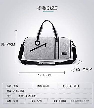 Black Fitness Sports Bag Casual Yoga Bag