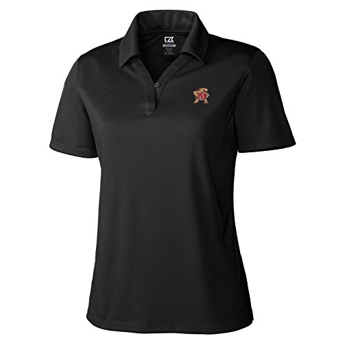 Maryland Golf Shirts (NCAA Maryland Terrapins Women's Genre Polo Shirt, Large, Black)