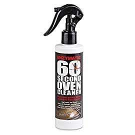 Enzymatic 60 Second Oven Cleaner