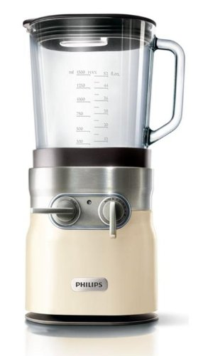 Philips HR2181/10 Robust - Batidora de vaso (850 W), color crema: Amazon.es: Hogar