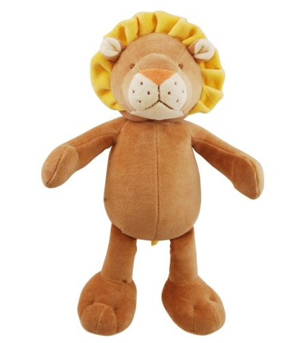 Simply Fido Leo 10-Inch Brown Lion Squeakers