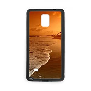 Beach Samsung Galaxy Note 4 Cell Phone Case Black O4490222