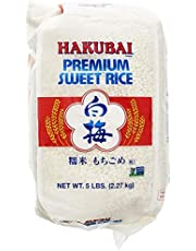 Hakubai Sweet Rice, 5-Pound