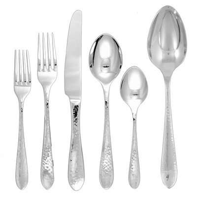 Ginkgo Starlight 42-pc. Flatware Set