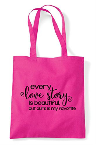 Shopper Ours Every Story But Tote Is Bag Long Beautiful Favourite My Fuschia wXvrXqSn