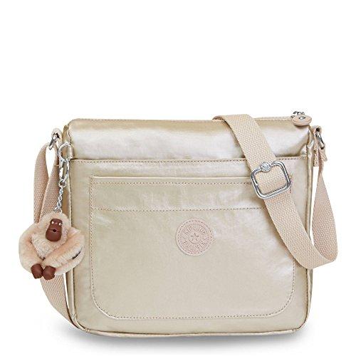 Bag Sparkly Crossbody Gold Kipling Sebastian Solid ygwqAYyz8x