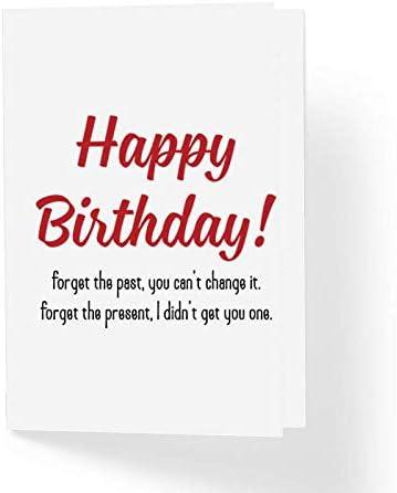 Amazon.com: Tarjeta de felicitación de cumpleaños ofensiva ...