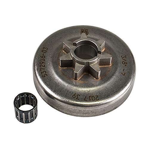Husqvarna Chainsaw Clutch Drum and Bearing 537291602 455 460 Rancher ()