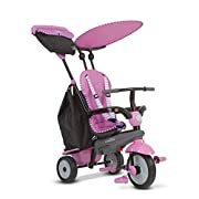smarTrike Shine Baby Tricycle, Pink