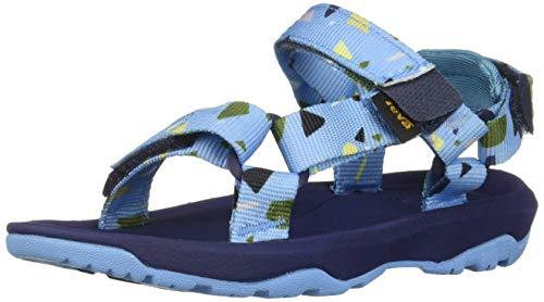 Teva Boys' T Hurricane XLT 2 Print Sport Sandal, TERRAZO Blue, 7 Medium US Toddler