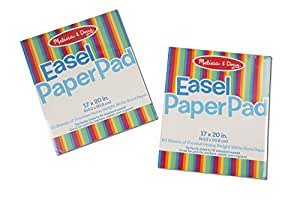 Melissa & Doug Easel Pad Bundle 50 Sheets 2-Pack