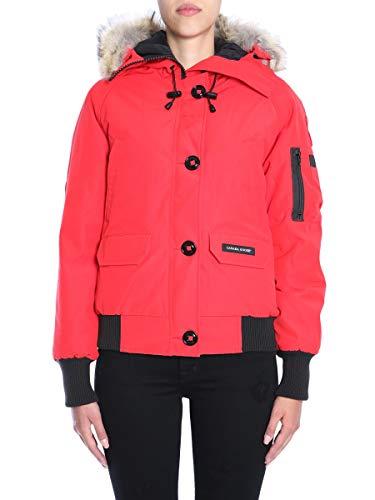Blouson Polyester Goose Rouge Femme 7999l11 Canada wxaqAY6Hx