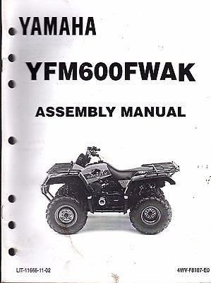 1998 YAMAHA ATV 4 WHEELER YFM600FWAK ASSEMBLY SERVICE for sale  Delivered anywhere in USA