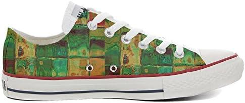 MYS Original Slim Customized personalisiert Schuhe (gedruckte Schuhe) Design Texture