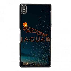Best Protector For Your Phone Sony Xperia Z3 Funda Cover Customized Jaguar Car Logo