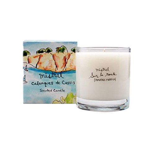 Cassis Candle - Mistral Calanques Cassis Glass Candle 8.8 oz / 250g